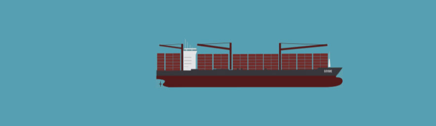 Container type Marfret Guyane