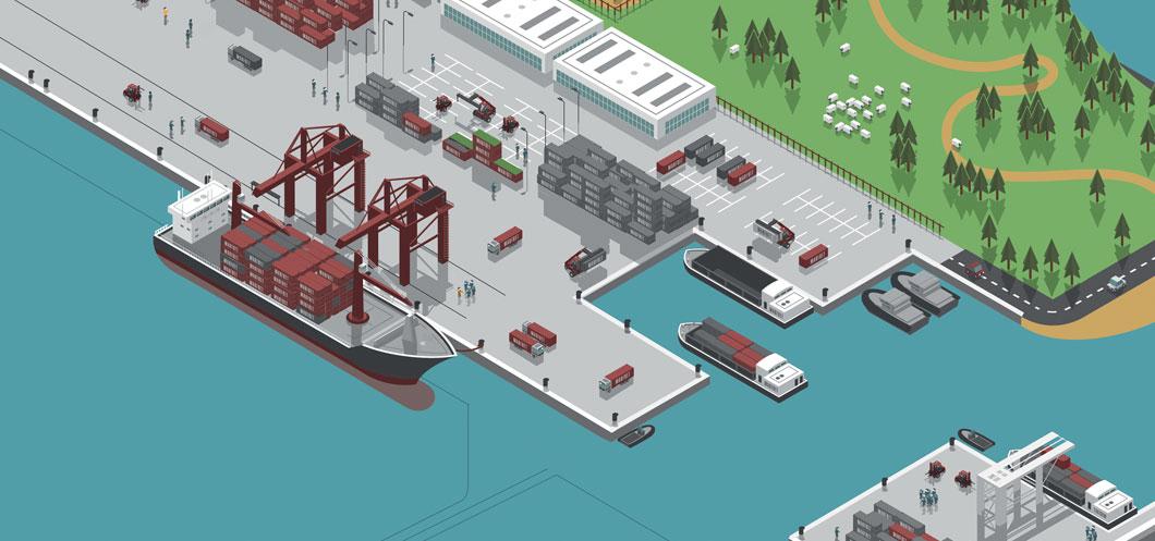 Marfret compagnie de transport maritime de lignes régulières