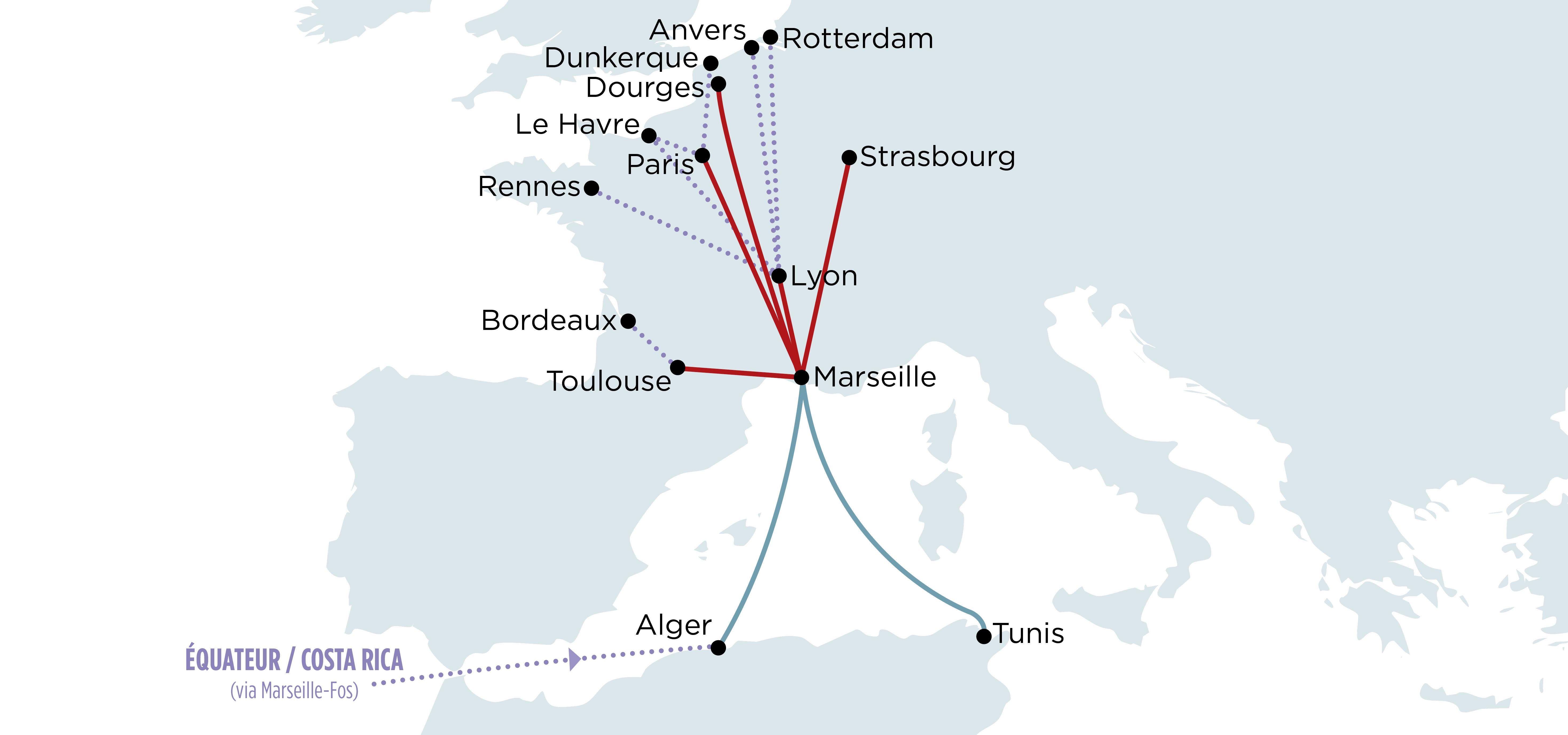 Ligne Maghreb Tunisie