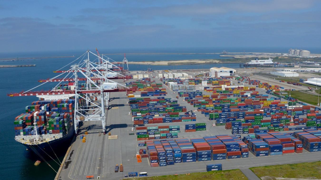 Le port de dunkerque france est desservi par marfret - Dunkirk port france address ...