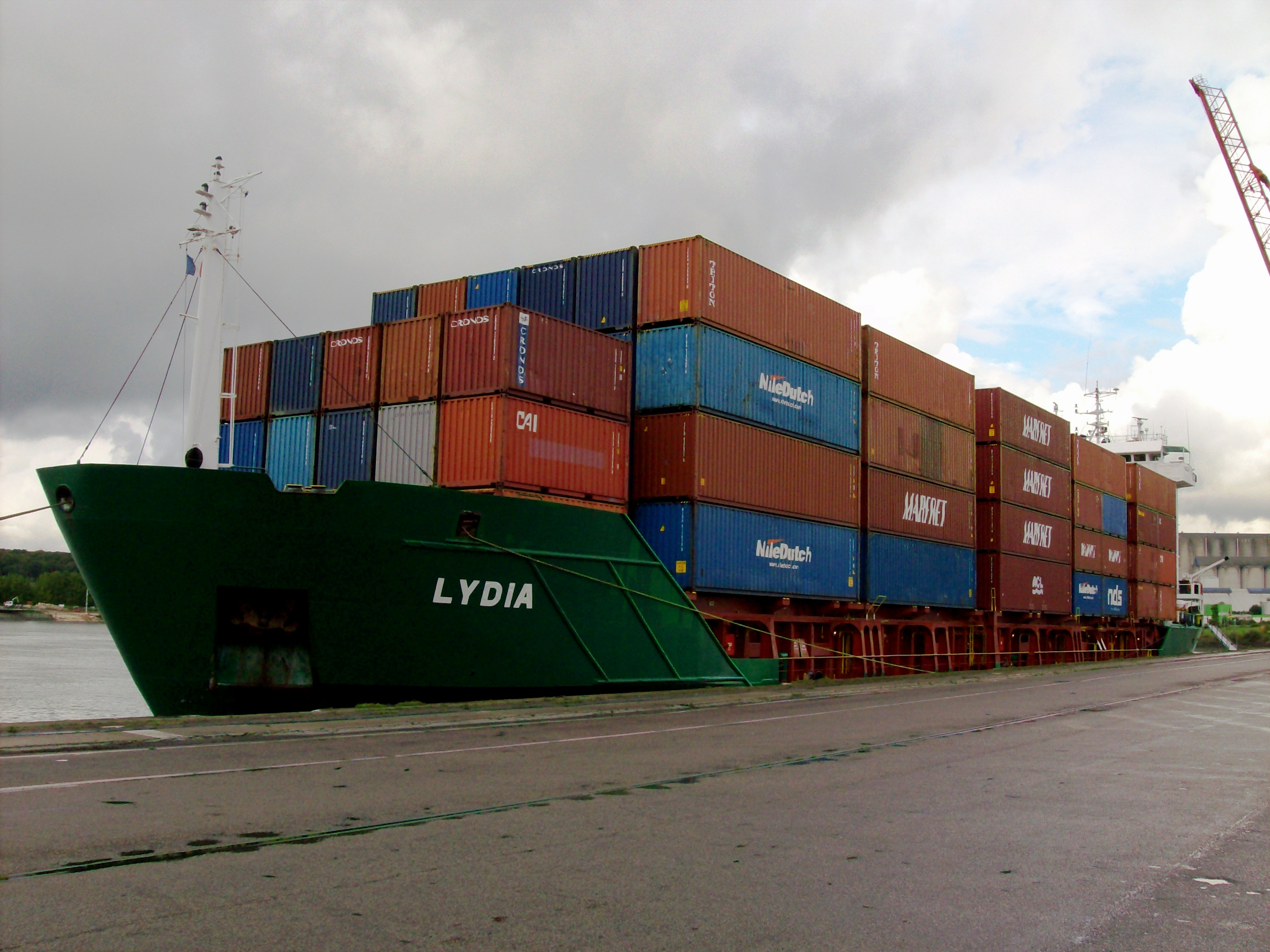 Self-propelled container type Lydia