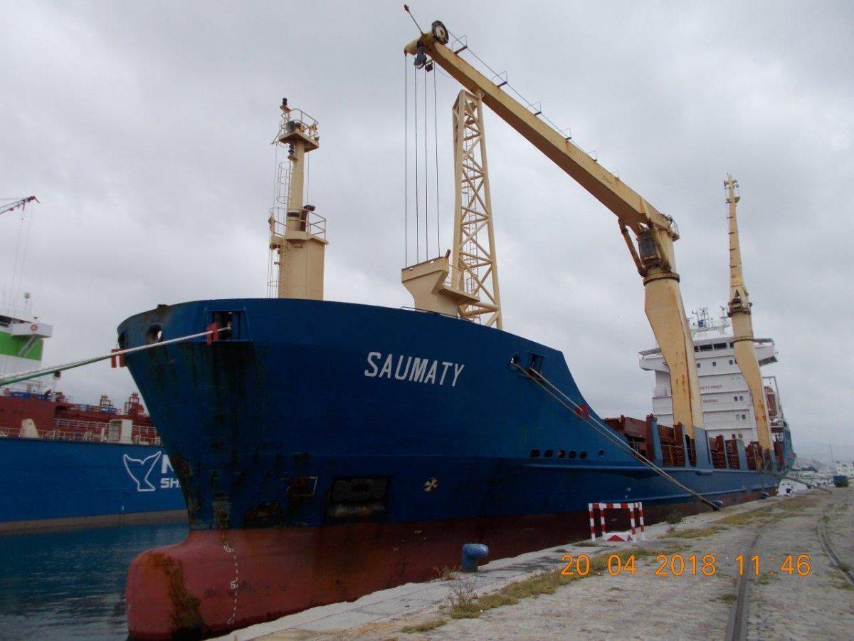 Le Saumaty remplace le Waddens sur le service Afrique du Nord