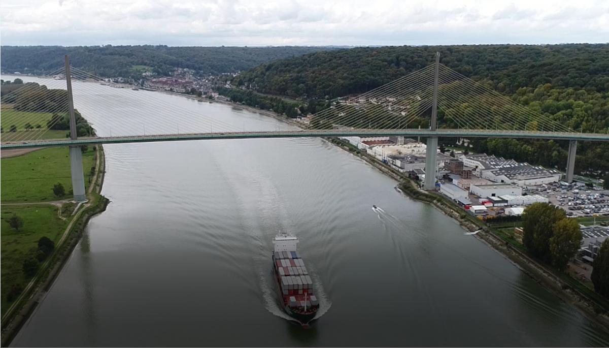 Fluviofeeder's inland terminal at Rouen gaining momentum