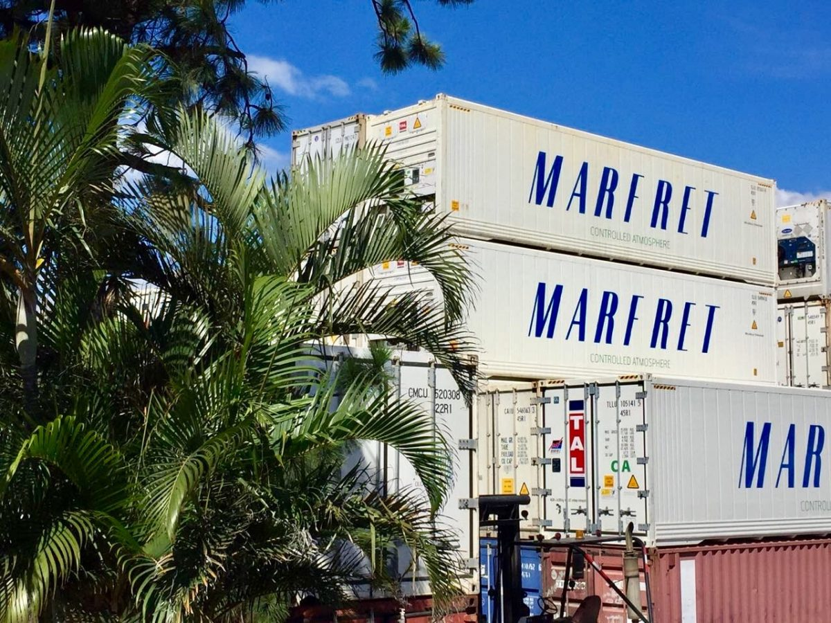 Rise in reefer volumes from Latin and Central America