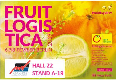 Marfret takes an enthusiastic bite into Fruit Logistica