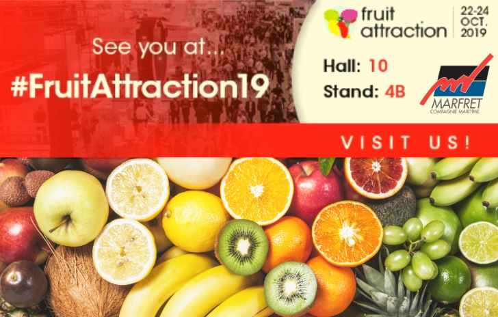 Retrouvez-nous au salon Fruit Attraction de Madrid du 22 au 24 octobre
