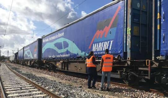MARFRET LAUNCHES A RAIL SERVICE BETWEEN THE PORTS OF ROUEN AND BONNEUIL-SUR-MARNE